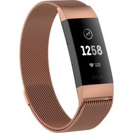 Fitbit Charge 3/4 RVS Band Rosé