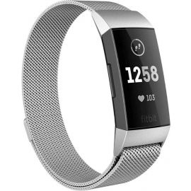Fitbit Charge 3/4 RVS Band Zilver