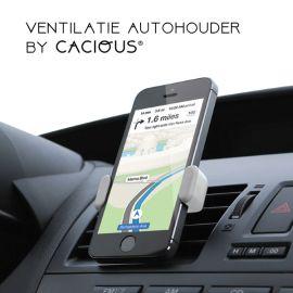 Auto telefoonhouder universeel · Ventilatierooster bevestiging · Cacious