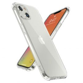 iPhone 13 Transparant Hoesje met Schokdempers - Cacious (Basic Serie)